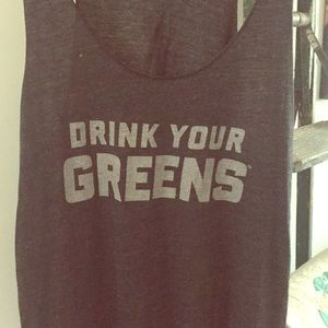 Drink Your Greens tank top